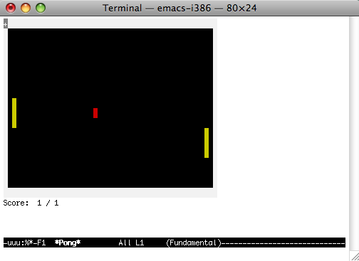 How to play games like Tetris inside the Mac OS Terminal app