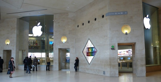 Apple Unveils First Apple Store In France Located In The